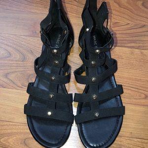 Black Marc fisher sandals